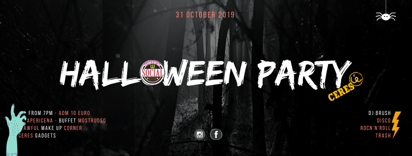 Best Halloween Party 2019 at Wiki Hostel! dinner buffet, make up corner, dj set!