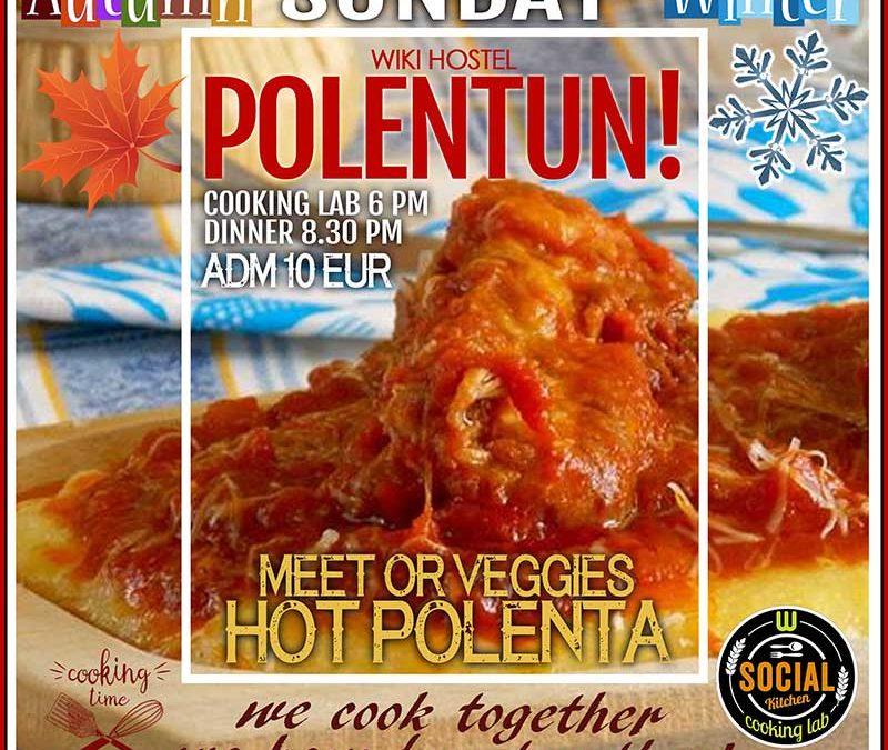 Polenta workout and social dinner