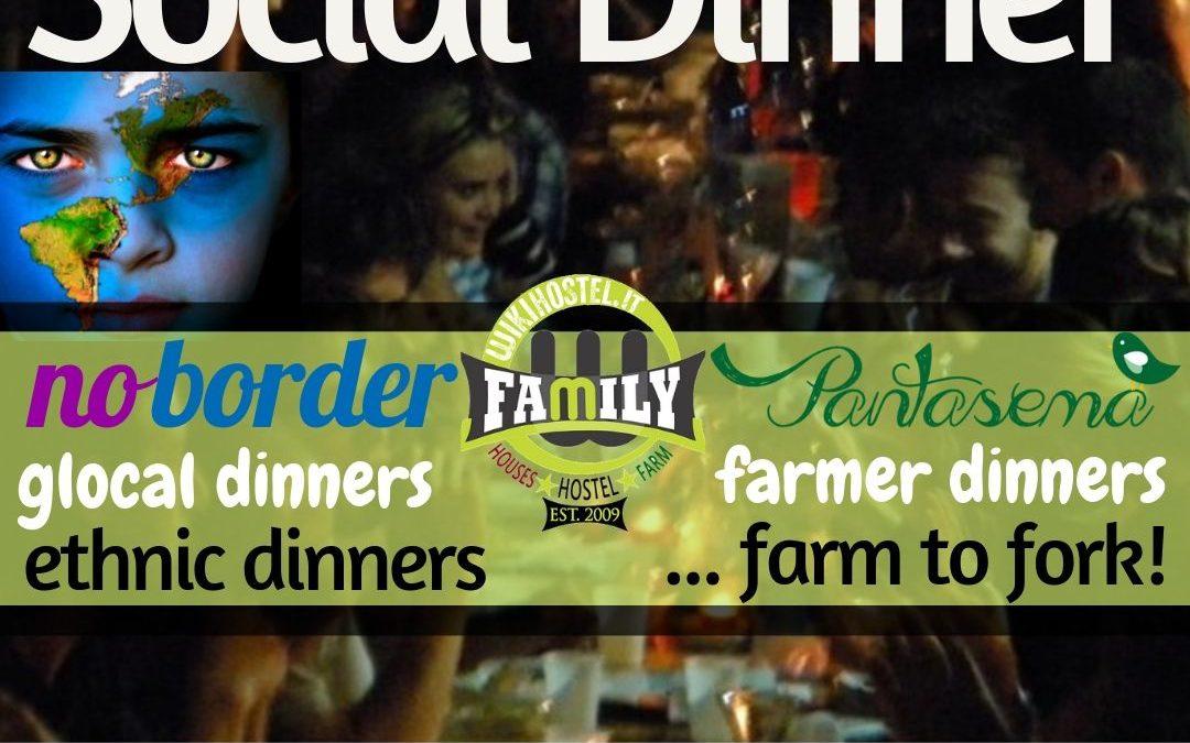 Wiki Hostel SOCIAL DINNER