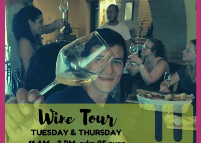 Wiki Hostel WINE Experience