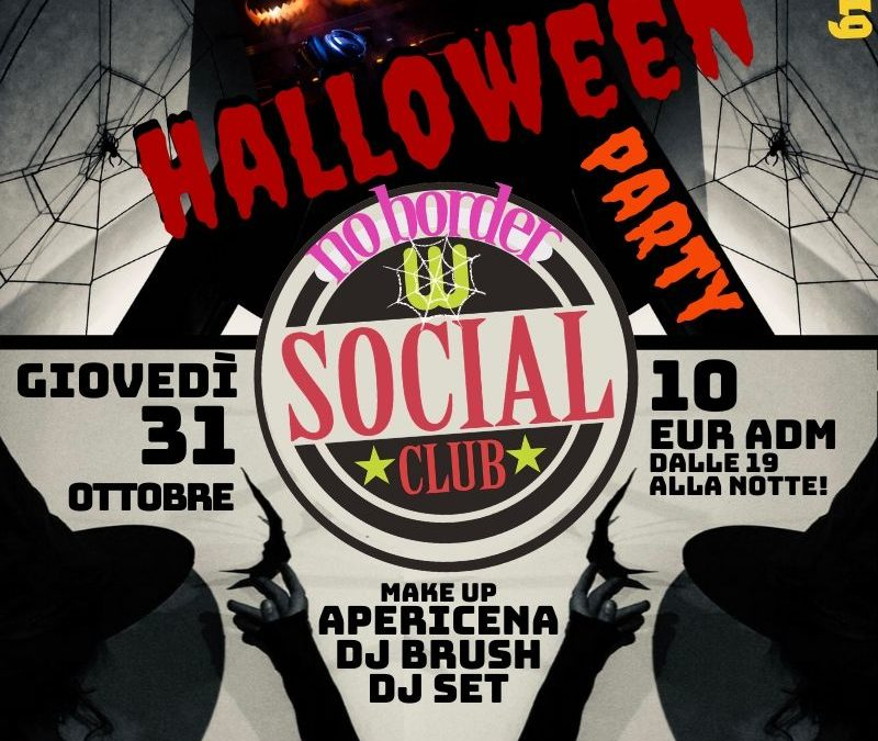 Halloween Party 2019 a Wiki Hostel! apericena, make up corner e dj set!