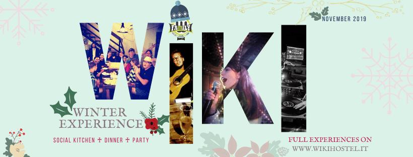Presentazioni, cene, serate: cosa non perdere questo novembre a Wiki Hostel!