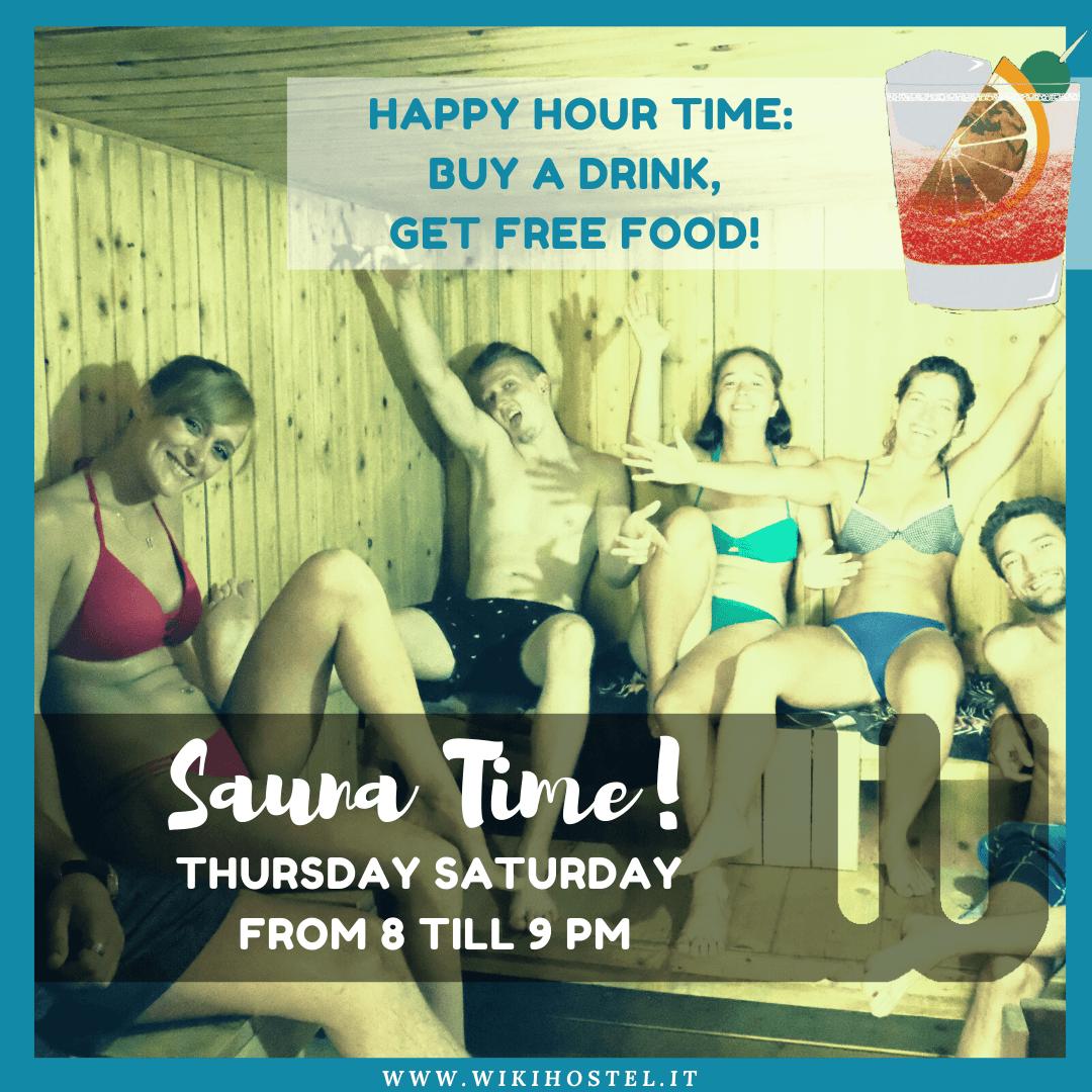 DETOX NIGHT! FREE SAUNA time!